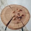 Прикроватный столик Orinos 01 из спила ясеня
