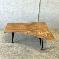 Журнальный стол Saetto из цельного слэба дуба