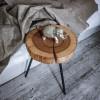 Прикроватный столик Orinos 02 из спила ясеня