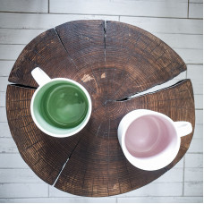 Прикроватный столик Orinos Tint из спила ясеня