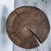 Прикроватный столик Orinos Tint 02 из спила ясеня