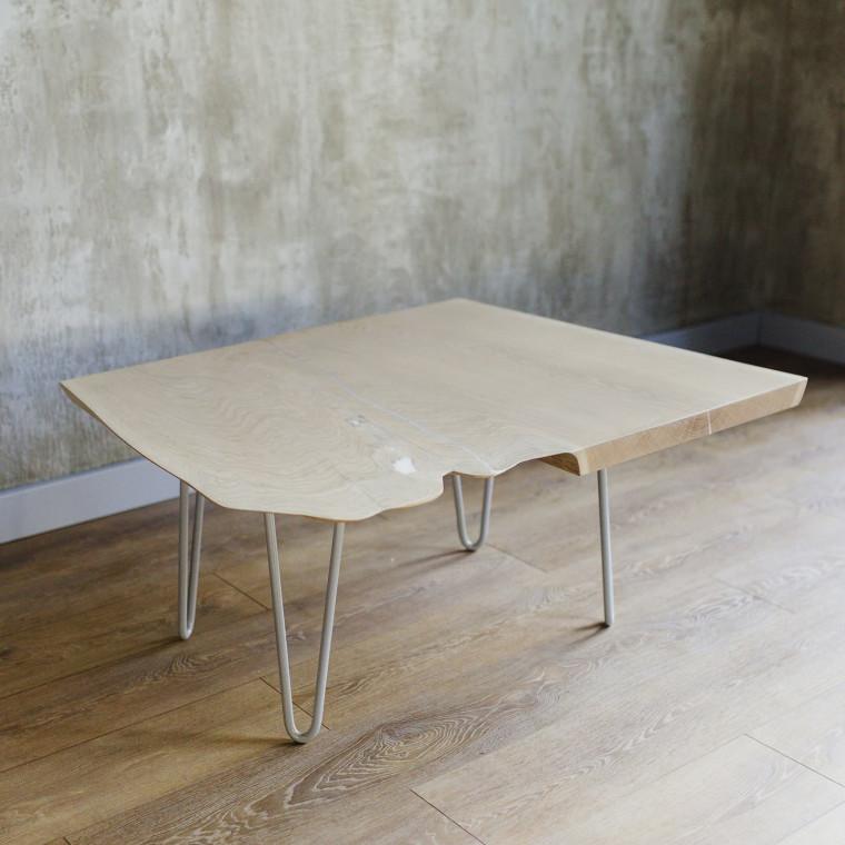 Журнальный стол Blanquee из слэба дуба