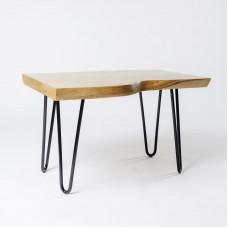 Журнальный стол Armony из цельного слэба дуба