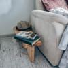 Прикроватный столик Jannico из спила ясеня