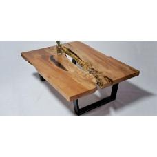 Журнальный стол из слэбов клена Wiesem