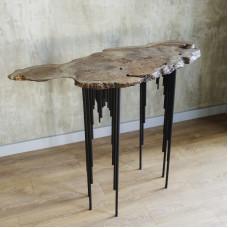 Консольный столик Surrey из капового карагача