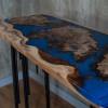 Консольный столик Surrey blue из капового карагача