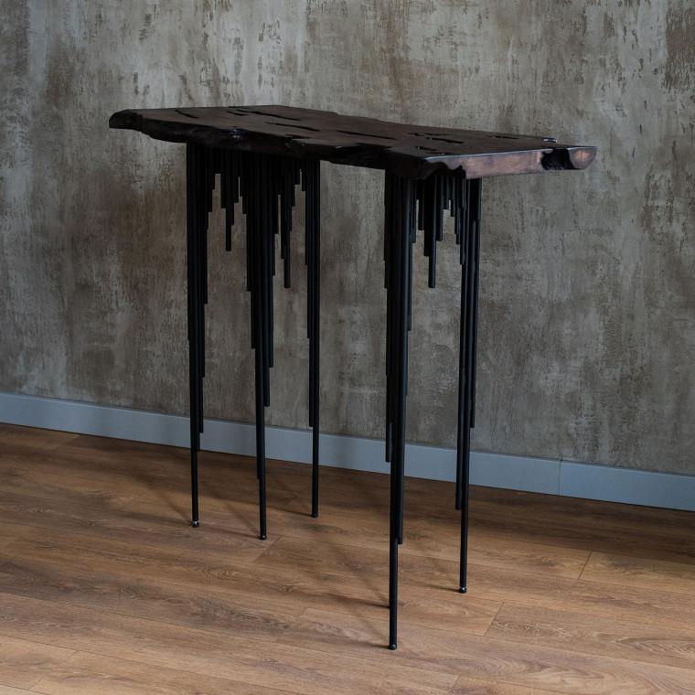 Консольный столик Surrey tint из слэба граба