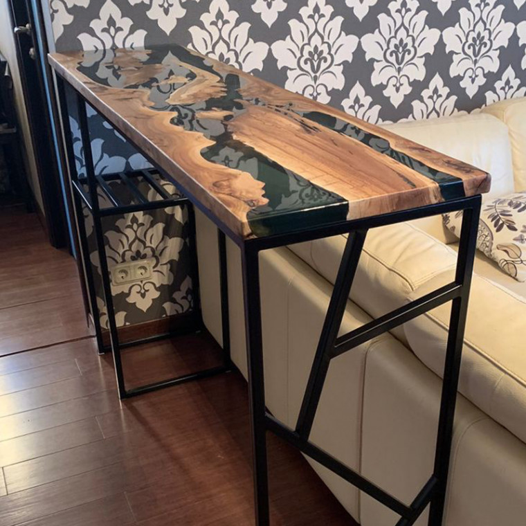 Консольный столик Incolto с черной заливкой