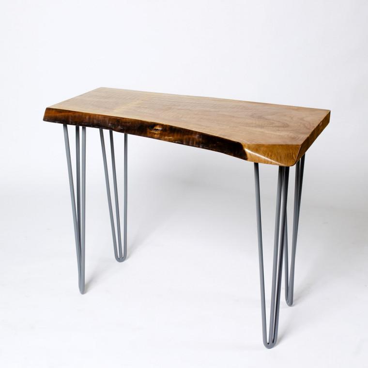Консольный столик Sottil из слэба клена