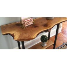 Консольный столик из слэбов дуба Cantivi
