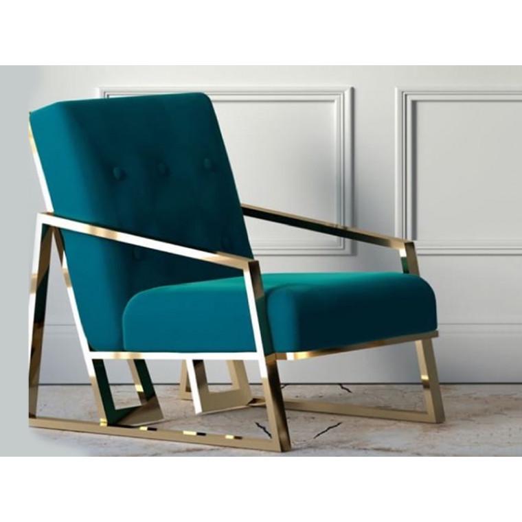 Кресло из бархата Versona