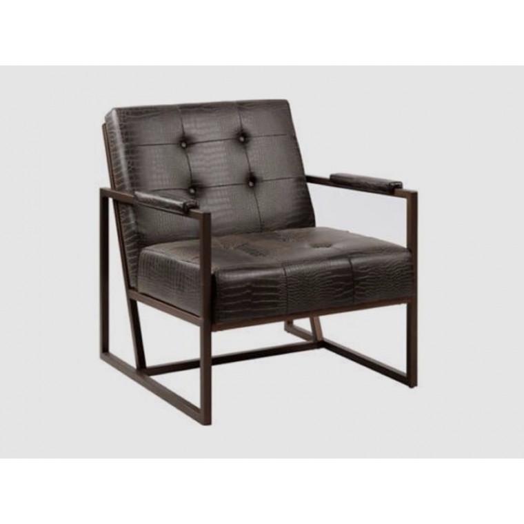Кресло из экокожи Bushingo