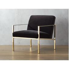 Кресло из бархата Starsi