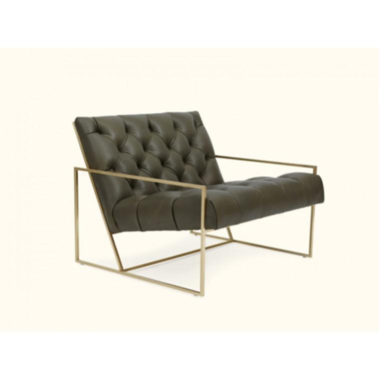 Кресло из экокожи Liveria