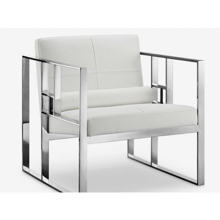 Кресло из эко-кожи Famoun
