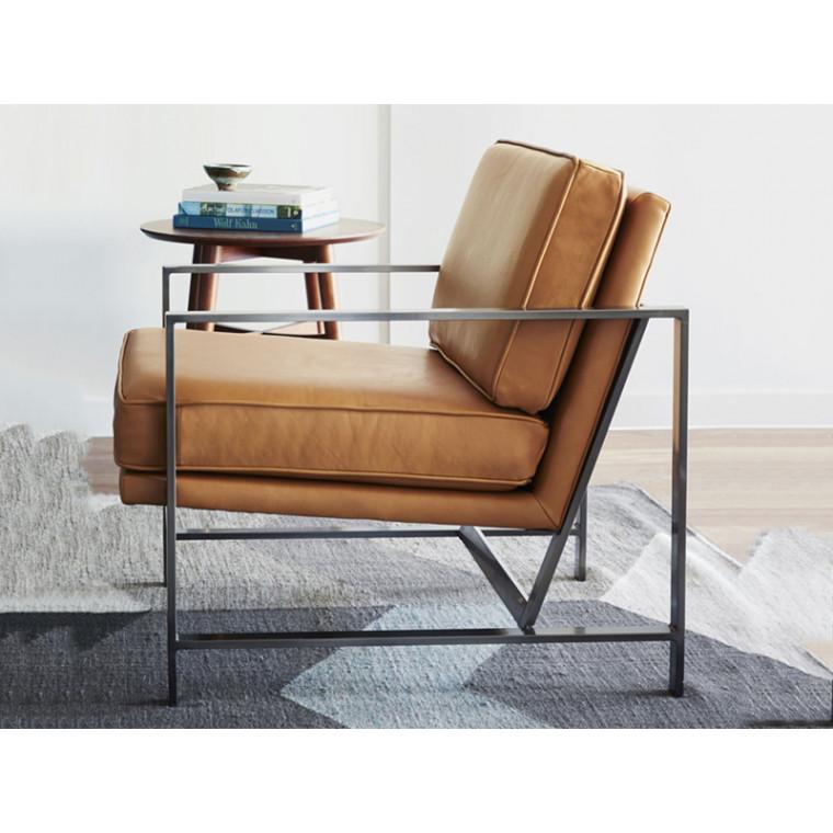Кресло из экокожи Dallega