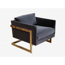Кресло из бархата или экокожи Sollento