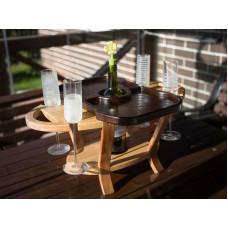 Винный столик для бокалов и вина Winkel