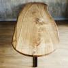 Обеденный стол Navessy из цельного слэба карагача