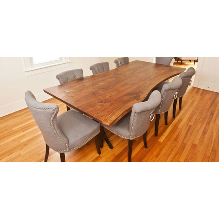 Обеденный стол из массива ореха Grasis