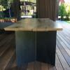 Обеденный стол Cinto из слэбов карагача