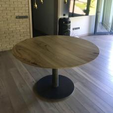 Круглый обеденный стол Offresh из массива карагача