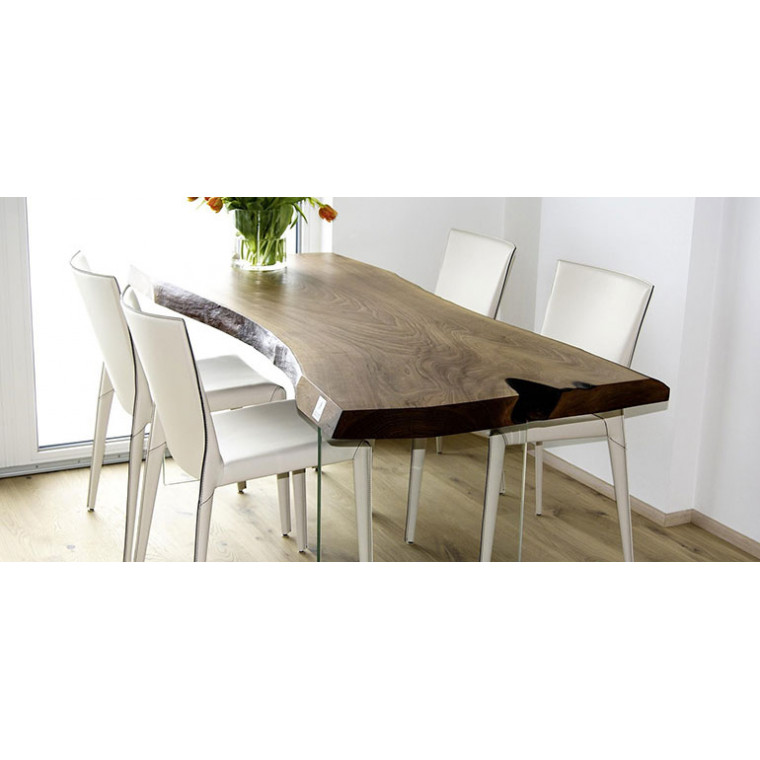 Обеденный стол из слэба карагача Romerica