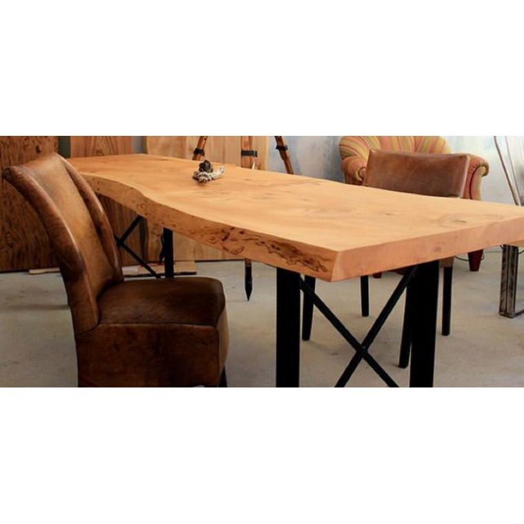 Обеденный стол из слэба дуба Arenos