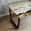 Обеденный стол Creatto из слэбов граба