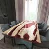 Обеденный стол река из слэбов граба Lifense C11