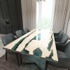 Обеденный стол река из слэбов дуба Lifense C05