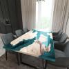 Обеденный стол река из слэбов карагача Merchaella C05