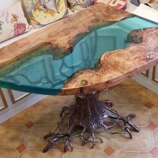 Обеденный стол Mitis с фантазийным подстольем