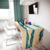 Обеденный стол река из слэбов дуба Farsaw C05