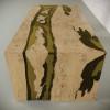 Обеденный стол река из слэбов дуба Farsaw C09
