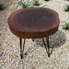 Прикроватный столик Orinos Tint 02 из спила карагача