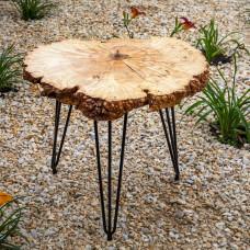 Прикроватный столик Grillago из спила карагача