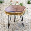 Прикроватный столик Belty из двухслойного карагача