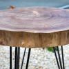 Прикроватный столик Orinos Tint 03 из спила карагача