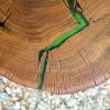 Прикроватный столик Grietto с заливкой цвета абсента