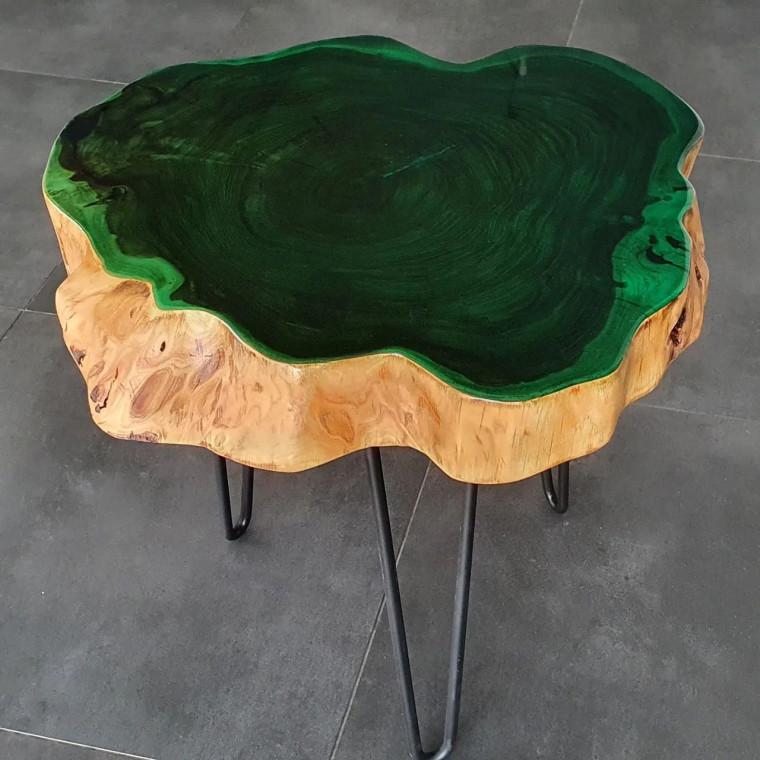 Журнальный столик Cavary Jade с глухой заливкой