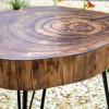 Прикроватный столик Ringos из спила карагача
